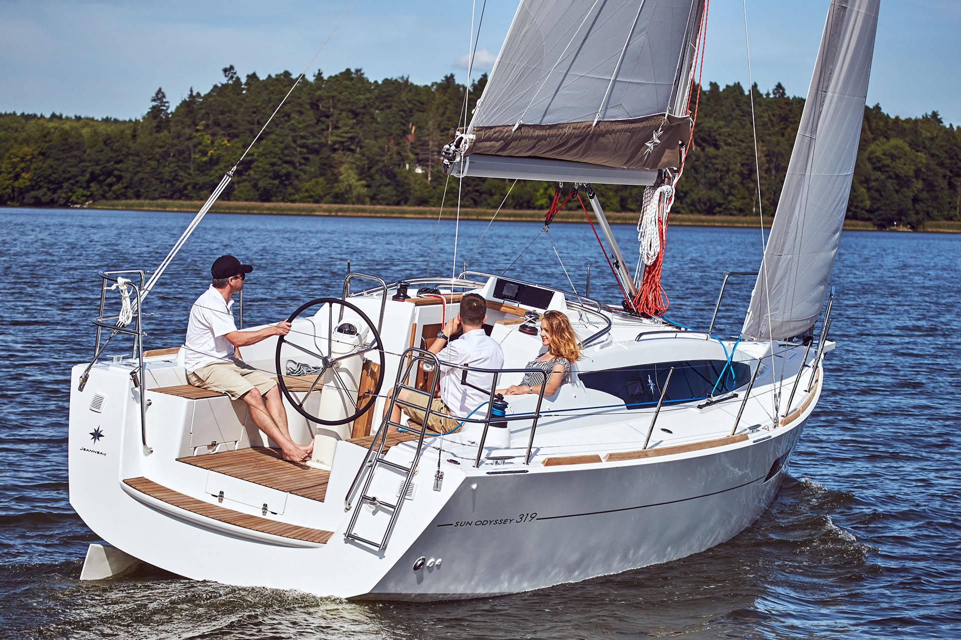 Trend Travel Yachting, Jeanneau Sun Odyssey 319. Titelbild