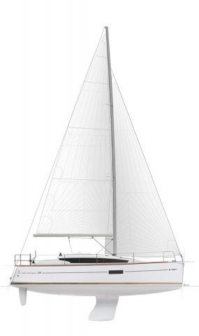 Trend Travel Yachting, Jeanneau Sun Odyssey 319. Profil