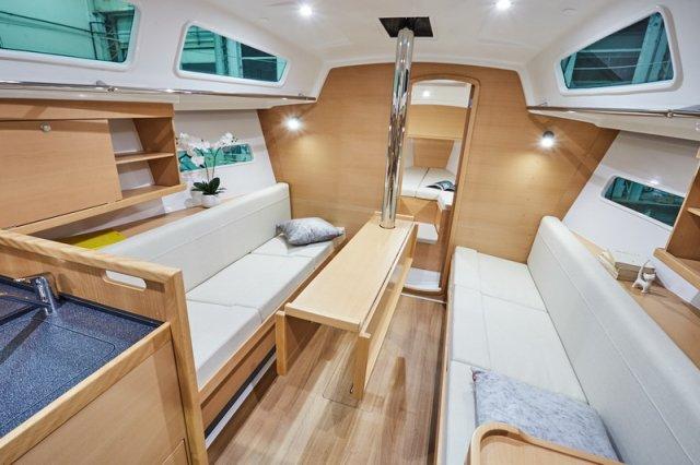 Trend Travel Yachting, Jeanneau Sun Odyssey 319. Innen 4