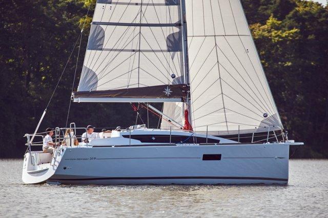Trend Travel Yachting, Jeanneau Sun Odyssey 319. unter Segeln 9