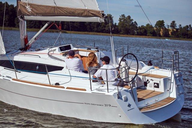 Trend Travel Yachting, Jeanneau Sun Odyssey 319. unter Segeln 6