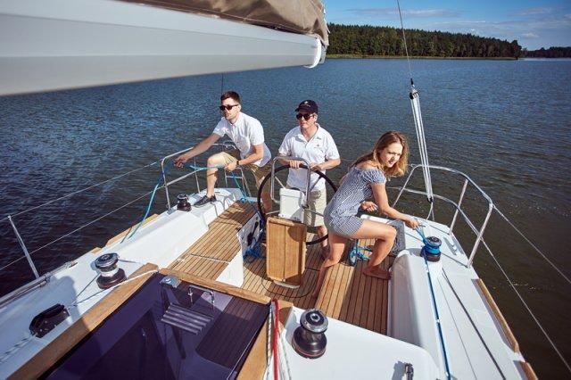 Trend Travel Yachting, Jeanneau Sun Odyssey 319. unter Segeln 5