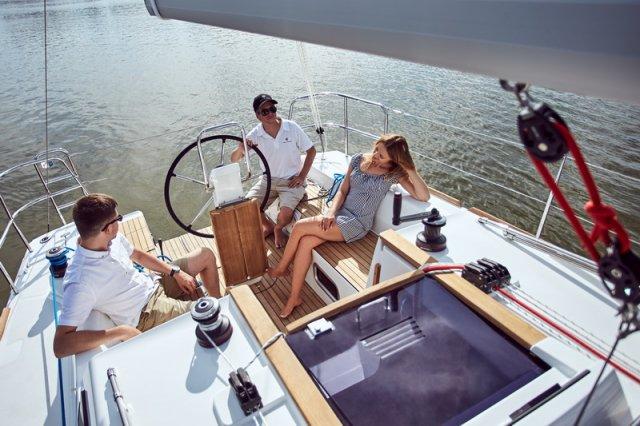 Trend Travel Yachting, Jeanneau Sun Odyssey 319. unter Segeln 4