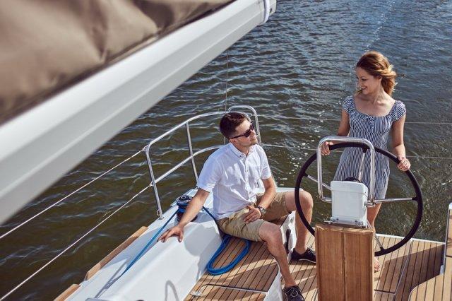 Trend Travel Yachting, Jeanneau Sun Odyssey 319. unter Segeln 2