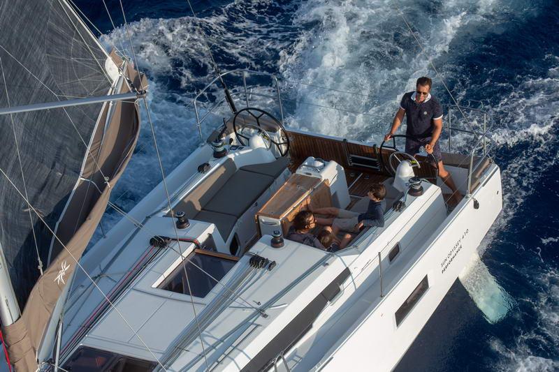 Sun Odyssey 410 in Kroatien Chartern bei Trend Travel & Yachting -11