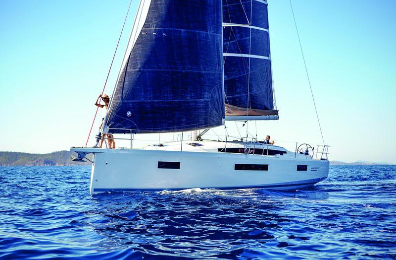 Sun Odyssey 410 in Kroatien Chartern bei Trend Travel & Yachting-43