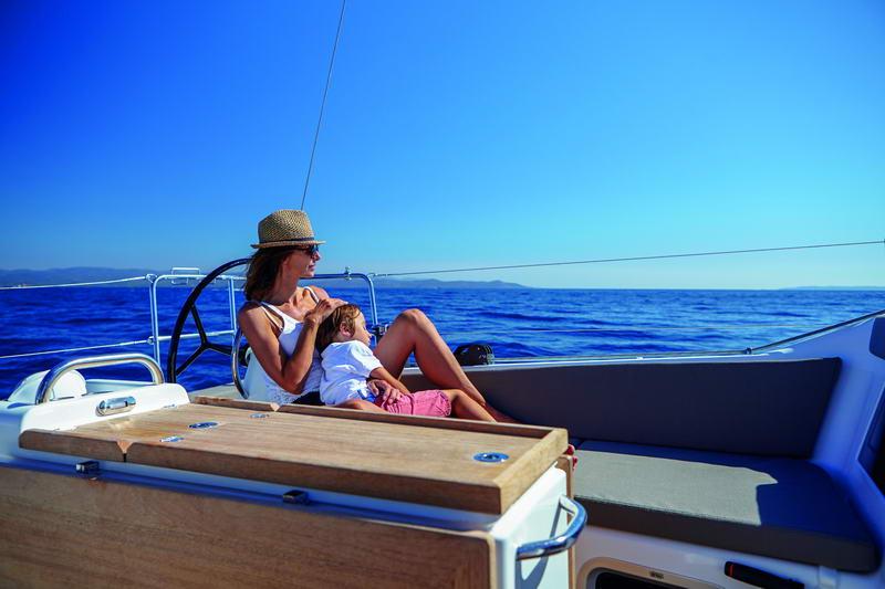 Sun Odyssey 410 in Kroatien Chartern bei Trend Travel & Yachting-37