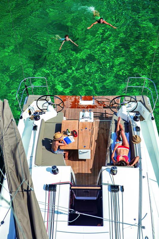 Sun Odyssey 410 in Kroatien Chartern bei Trend Travel & Yachting-34