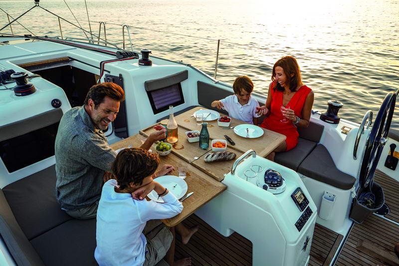 Sun Odyssey 410 in Kroatien Chartern bei Trend Travel & Yachting-33