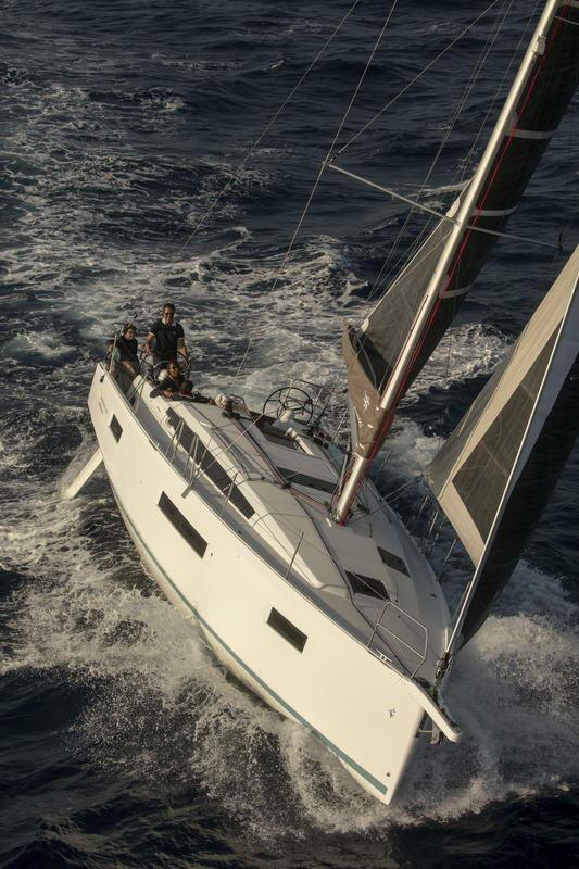 Sun Odyssey 410 in Kroatien Chartern bei Trend Travel & Yachting-28