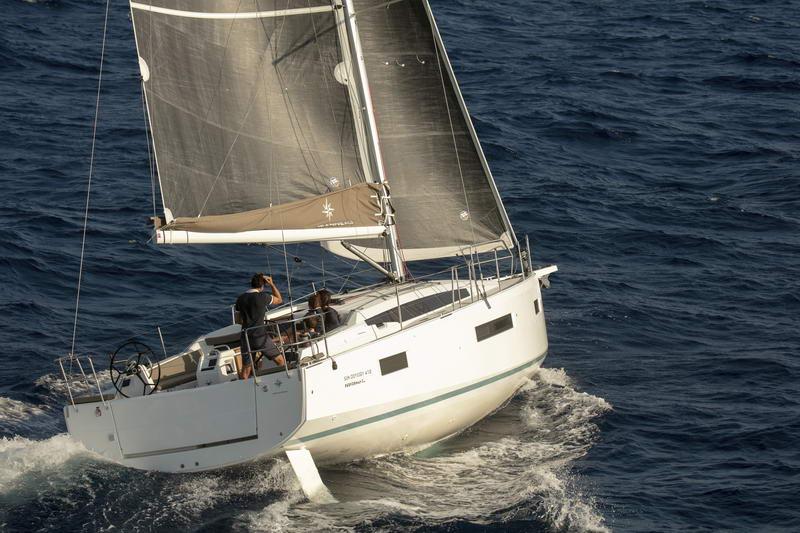 Sun Odyssey 410 in Kroatien Chartern bei Trend Travel & Yachting-26