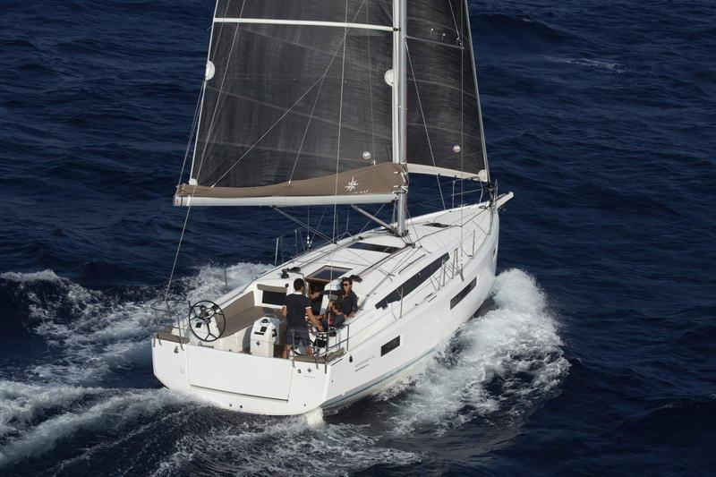 Sun Odyssey 410 in Kroatien Chartern bei Trend Travel & Yachting-22