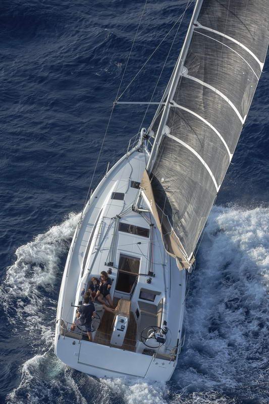 Sun Odyssey 410 in Kroatien Chartern bei Trend Travel & Yachting -13