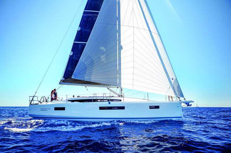 Sun Odyssey 410 by Trend Travel Yachting