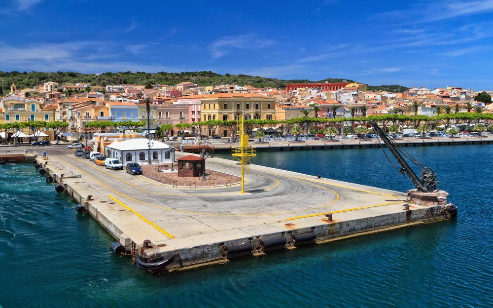 Trend Travel Yachting Charter Sardinien - Carloforte Hafen