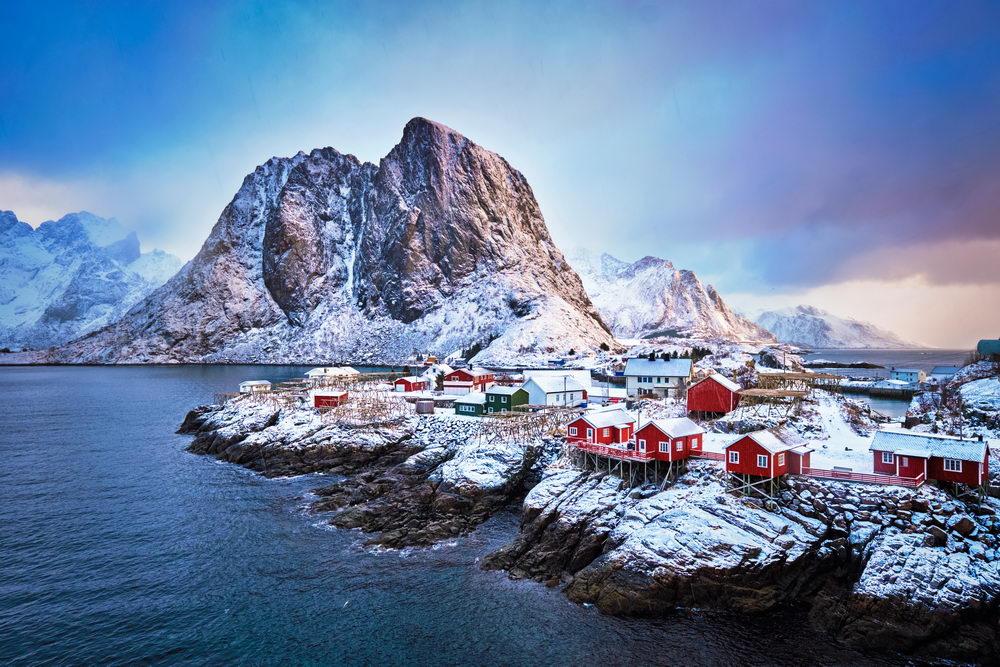 Trend Travel Yachting Charter Norwegen, Hamnoy Fischerdorf, Lofoten