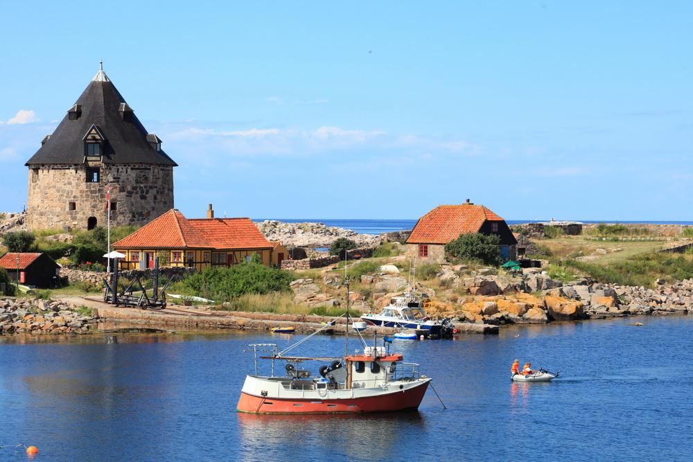 Trend Travel Yachting Charter Ostsee, Fort Christiansoe, Bornholm