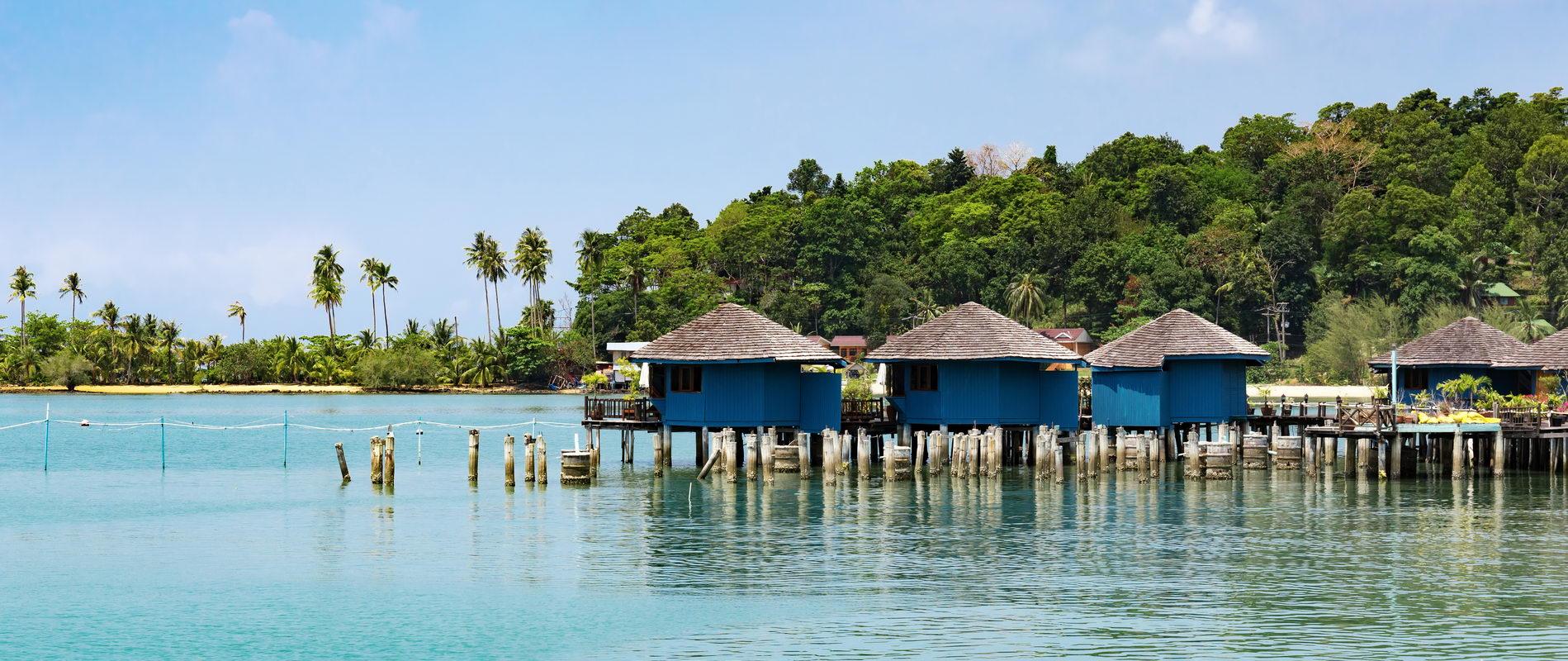Trend Travel Yachting, Charter Thailand - Fischerdorf Bang Bao, Koh Chang