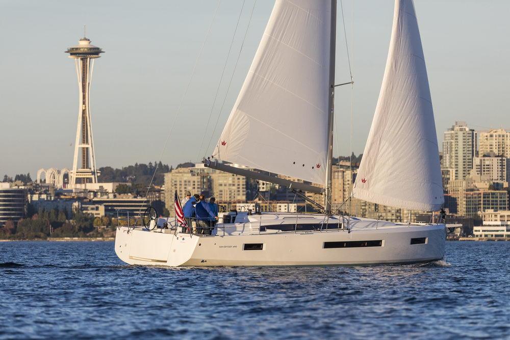 Trend Travel Yachting Jeanneau Sun Odyssey 490, unter Segeln (68) Chartern oder Kaufen.