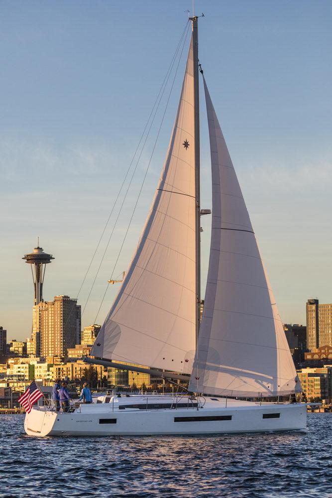 Trend Travel Yachting Jeanneau Sun Odyssey 490, unter Segeln (67) Chartern oder Kaufen.