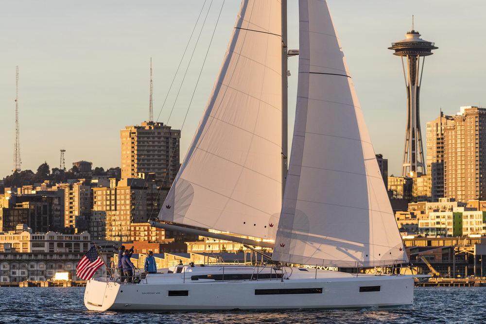 Trend Travel Yachting Jeanneau Sun Odyssey 490, unter Segeln (66) Chartern oder Kaufen.