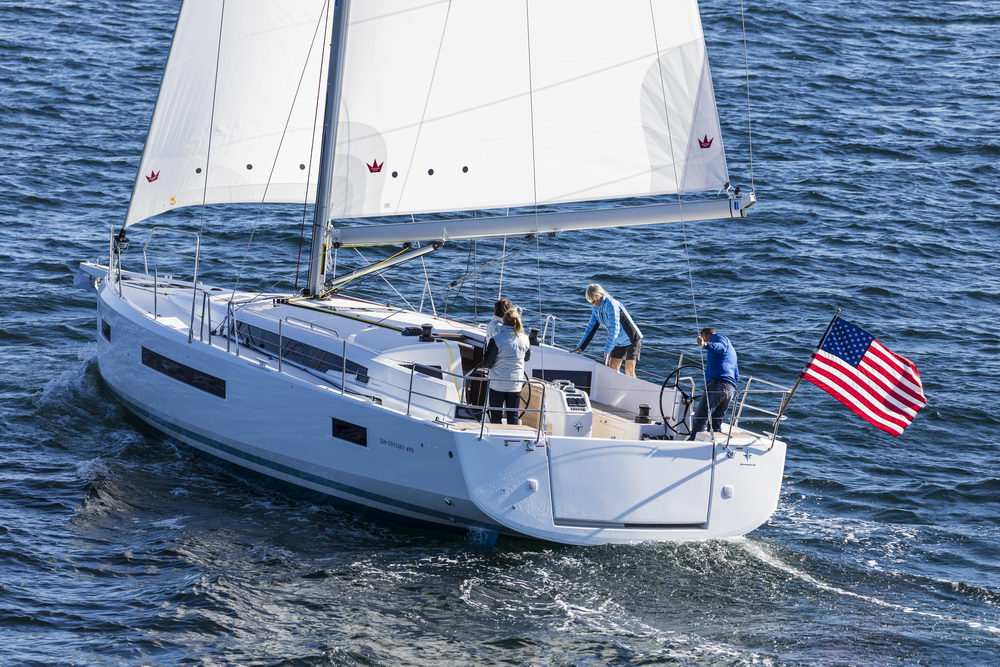 Trend Travel Yachting Jeanneau Sun Odyssey 490, unter Segeln (58) Chartern oder Kaufen.