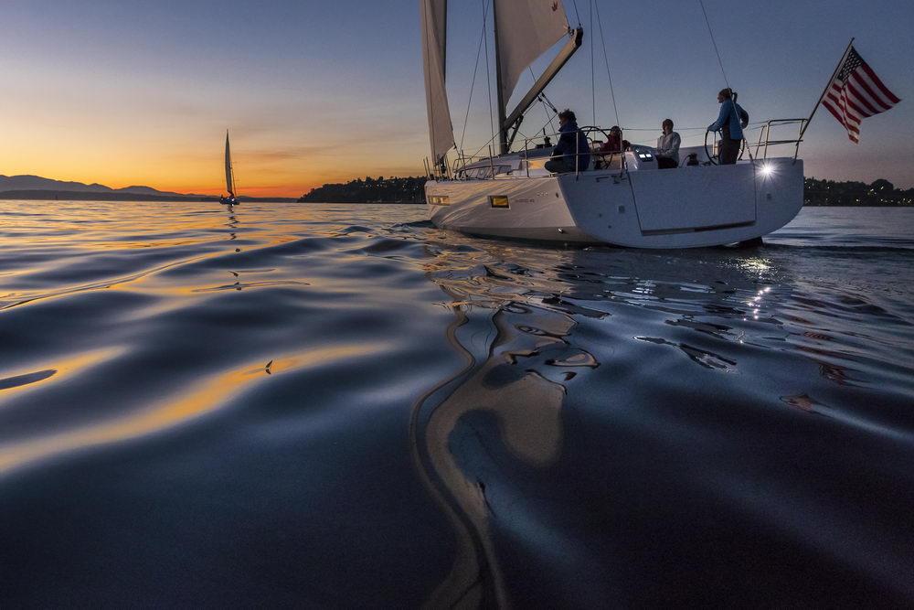 Trend Travel Yachting Jeanneau Sun Odyssey 490, Chartern oder Kaufen. Abendsonne geniessen