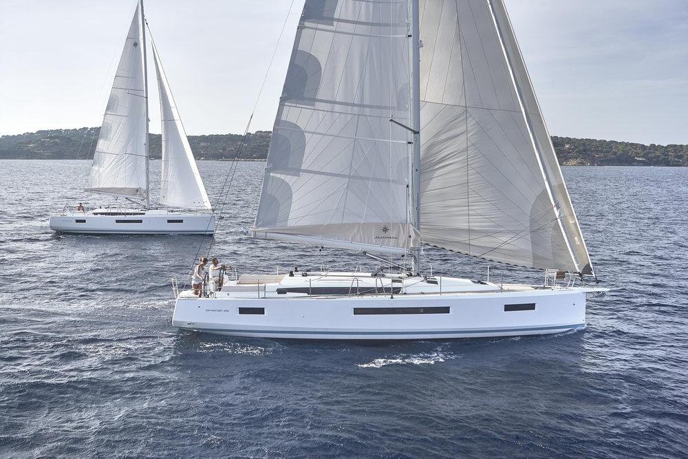 Trend Travel Yachting Jeanneau Sun Odyssey 490, unter Segeln (55) Chartern oder Kaufen.