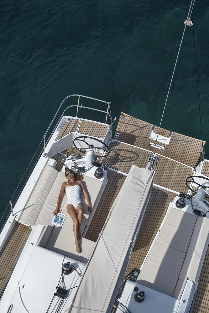 Trend Travel Yachting Jeanneau Sun Odyssey 490, Chartern oder Kaufen. Sonne geniessen am Deck (12)