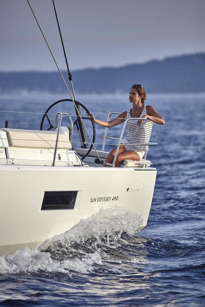 Trend Travel Yachting Jeanneau Sun Odyssey 490, unter Segeln (37) Chartern oder Kaufen.