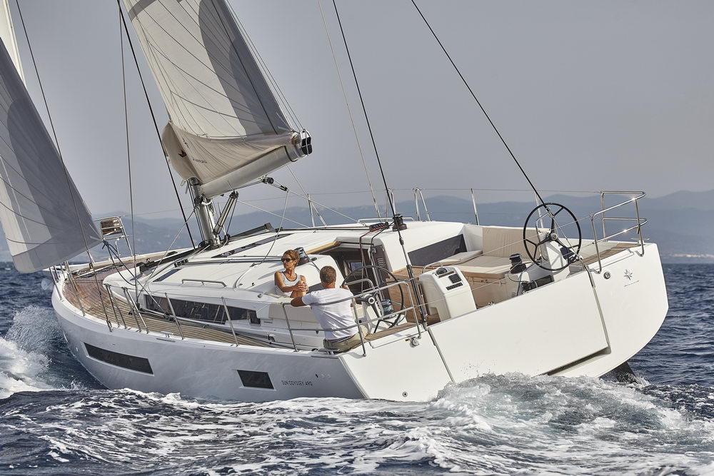 Trend Travel Yachting Jeanneau Sun Odyssey 490, unter Segeln (29) Chartern oder Kaufen.