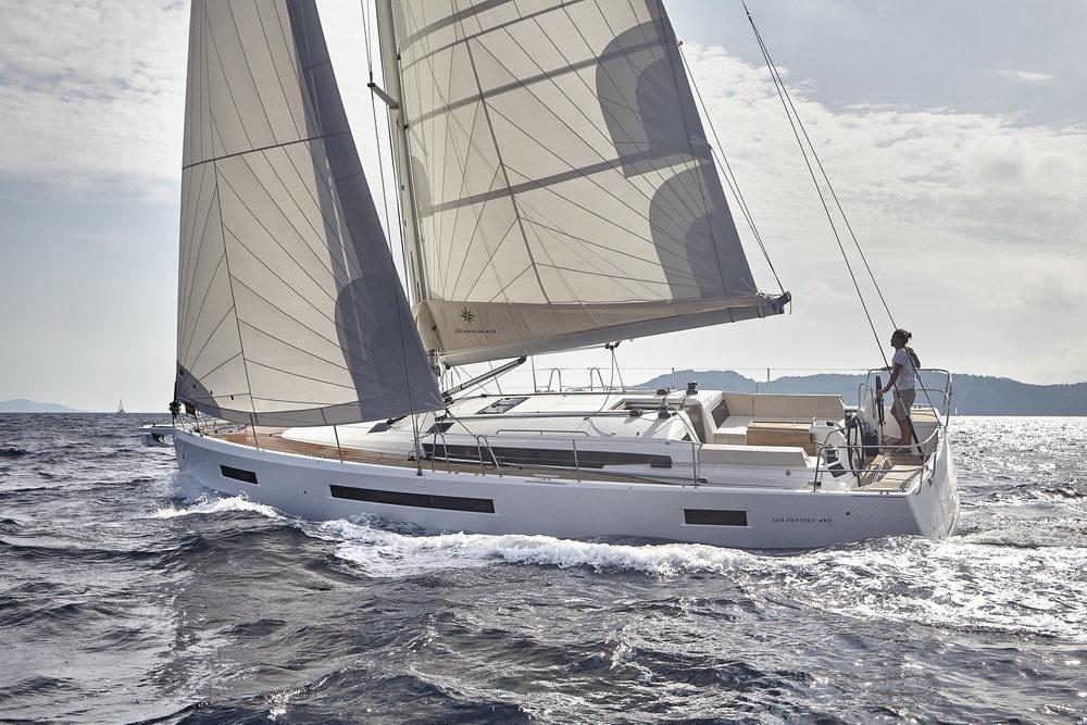 Trend Travel Yachting Jeanneau Sun Odyssey 490, unter Segeln (26) Chartern oder Kaufen.