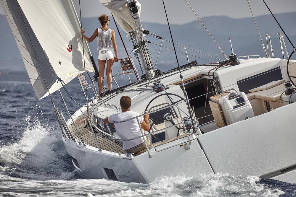 Trend Travel Yachting Jeanneau Sun Odyssey 490, unter Segeln (25) Chartern oder Kaufen.