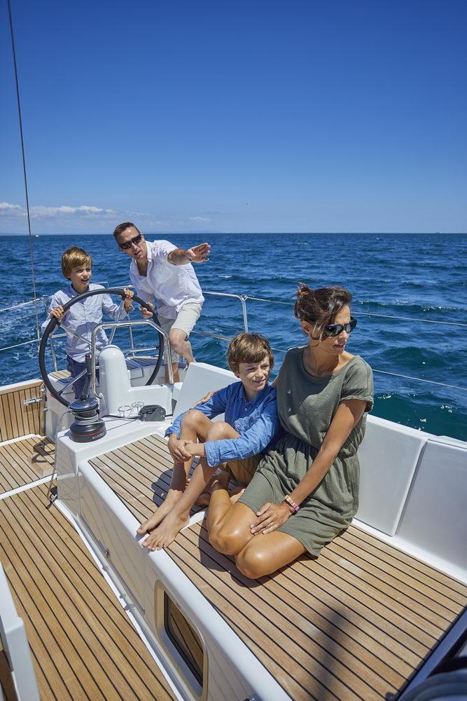 Trend Travel Yachting Jeanneau Sun Odyssey 490, unter Segeln (19) Chartern oder Kaufen.