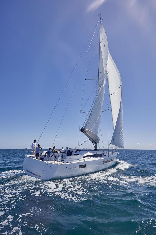 Trend Travel Yachting Jeanneau Sun Odyssey 490, unter Segeln (15) Chartern oder Kaufen.