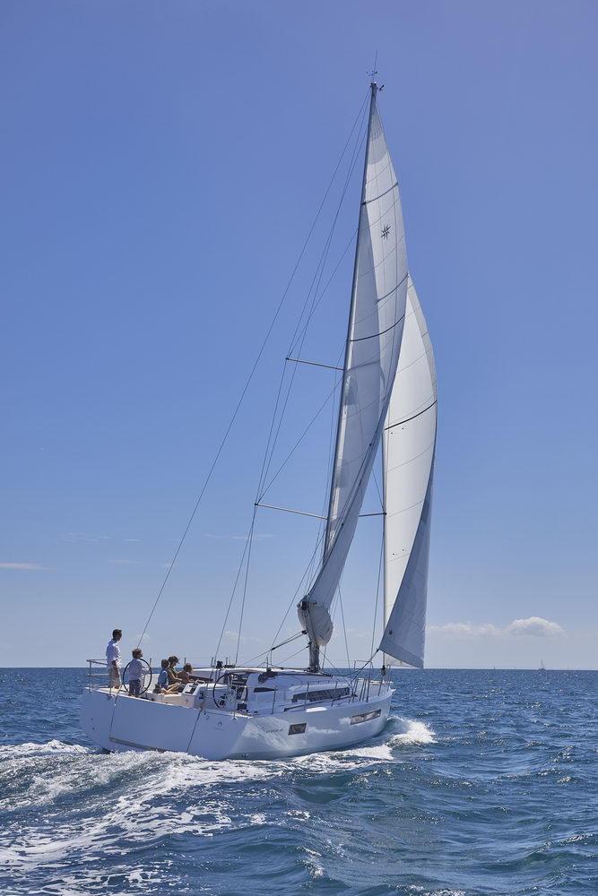 Trend Travel Yachting Jeanneau Sun Odyssey 490, unter Segeln (14) Chartern oder Kaufen.