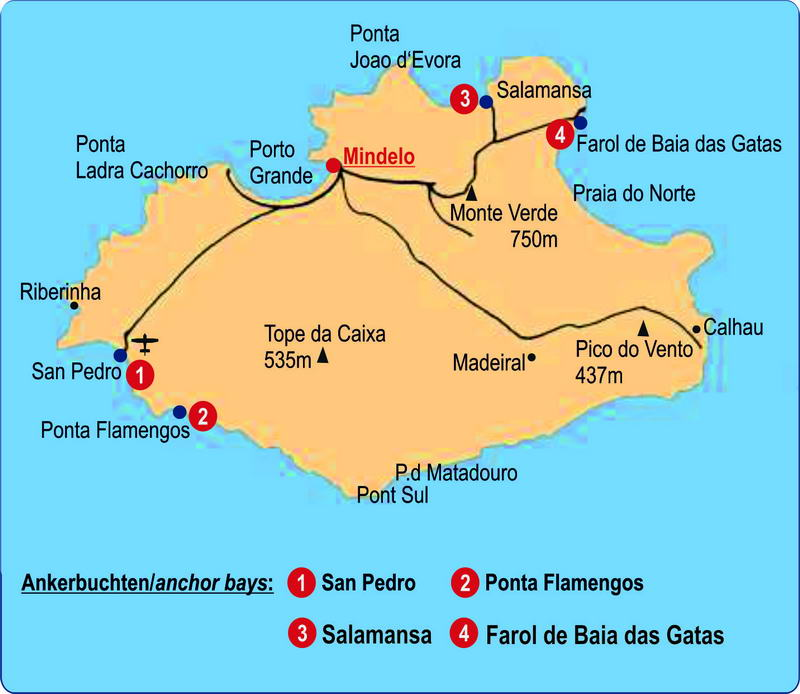 Wo Liegt Kapverden Karte.Kapverden Sao Vicente Trend Travel Yachting