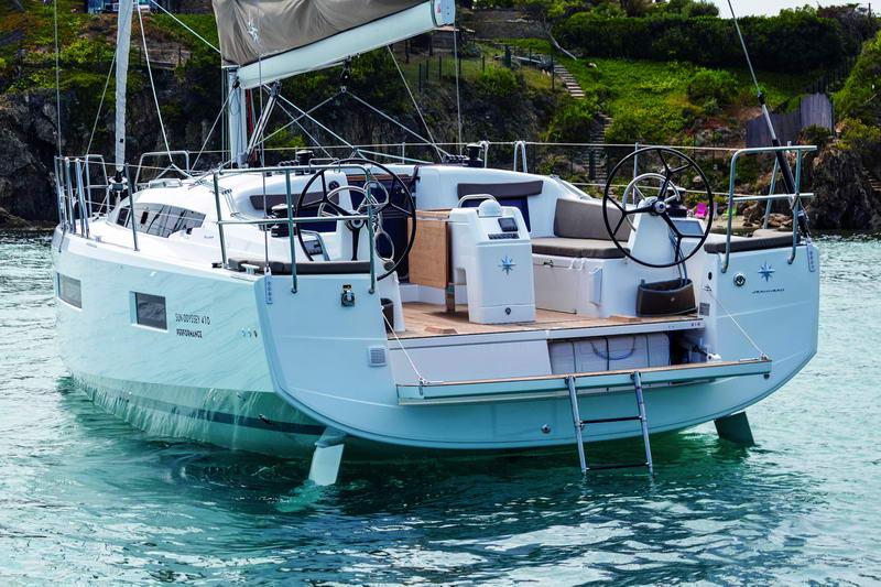 Sun Odyssey 410 in Kroatien Chartern bei Trend Travel & Yachting-7