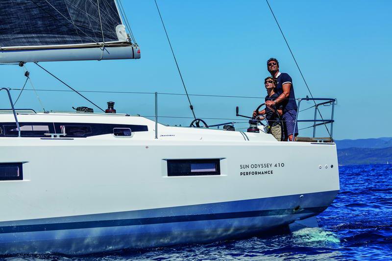 Sun Odyssey 410 in Kroatien Chartern bei Trend Travel & Yachting-3