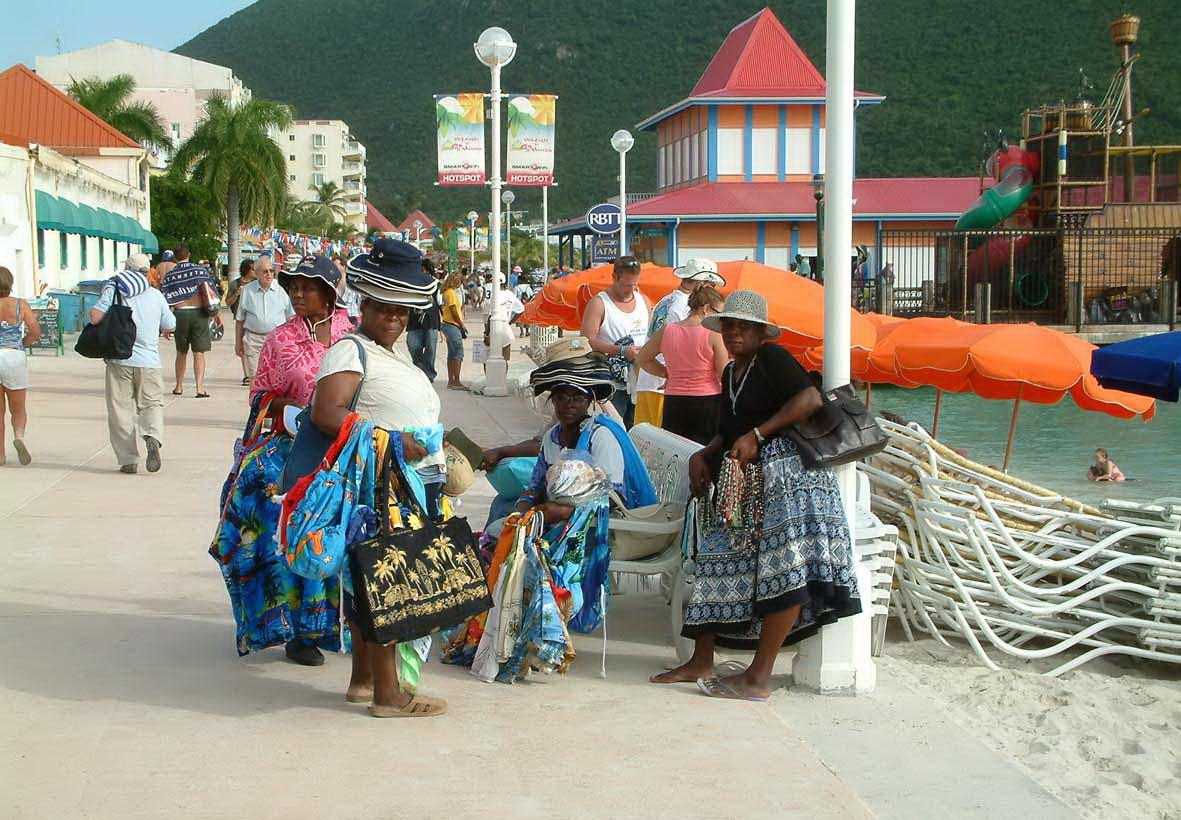 Trend travel yachting Leeward Islands Frauen
