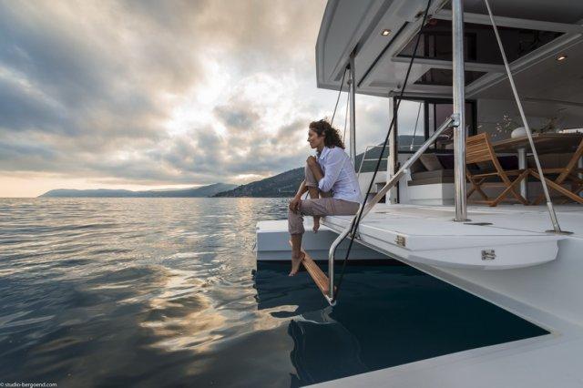 Trend Travel Yachting, Bali 4.0 Katamaran, plattform