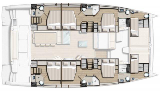 trend-travel-yachting-yachtverkauf-Bali Katamarane -Bali 5.4-Grundriss-3