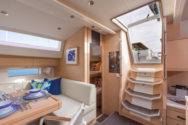 Trend Travel Yachting. Kaufen oder Chartern beim Segelspezialisten. Jeanneau Yacht 64, Interieur (10)