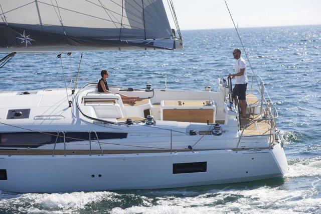 Trend Travel Yachting, Jeanneau Yacht 51. Kaufen oder Chartern beim Charterspezialist. Unter Segeln (1)