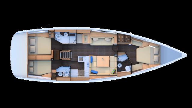 trend-travel-yachting-yachtverkauf-Jeanneau Yachts-51-Grundriss-3