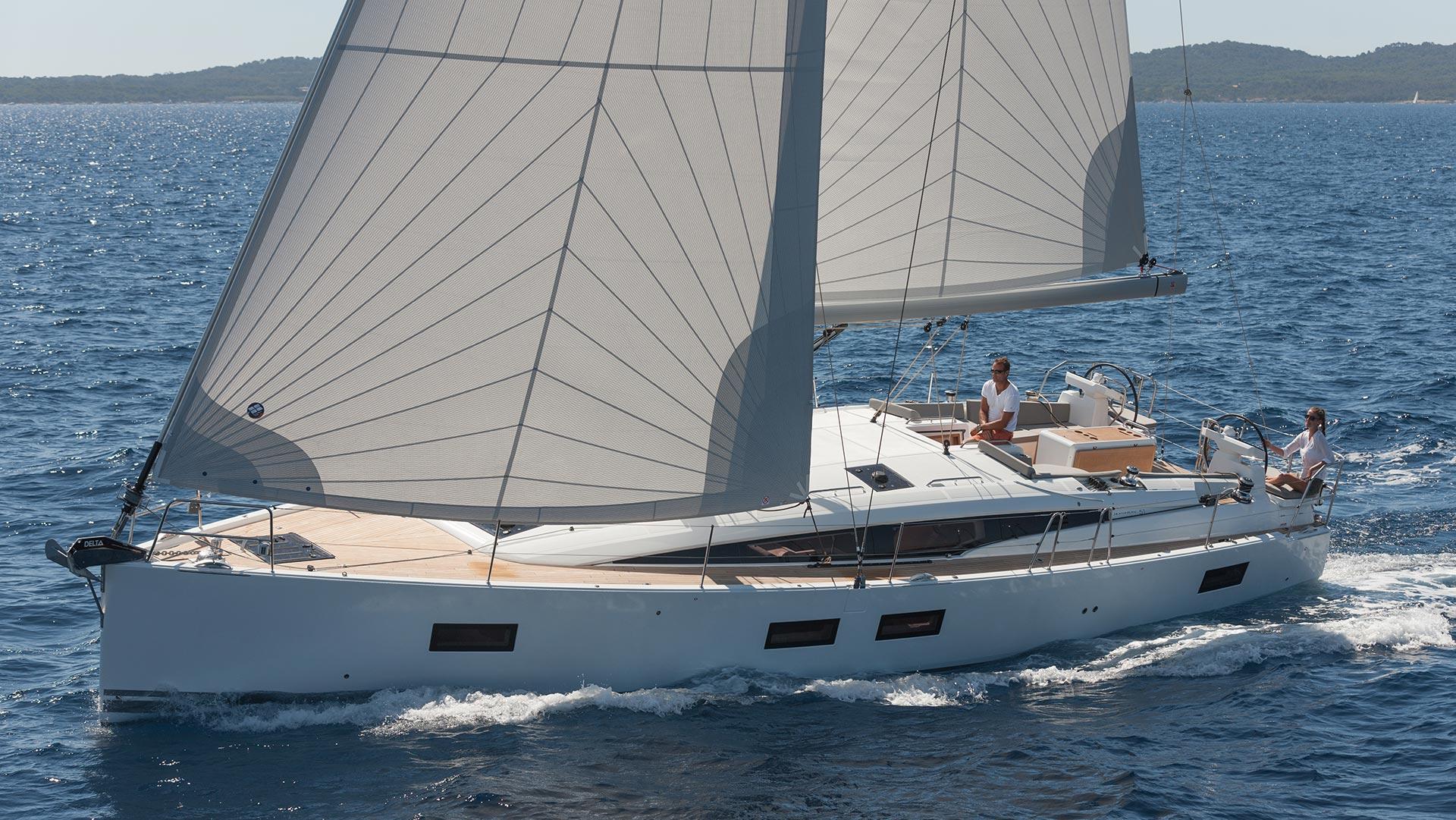 Trend Travel Yachting, Jeanneau Yacht 51. Kaufen oder Chartern beim Charterspezialist. Unter Segeln (6)