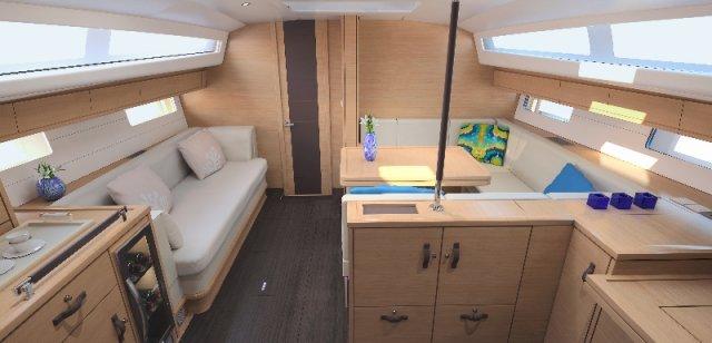 Trend Travel Yachting, Jeanneau Yacht 54. Kaufen oder Chartern beim Charterspezialist. Interieur (3)