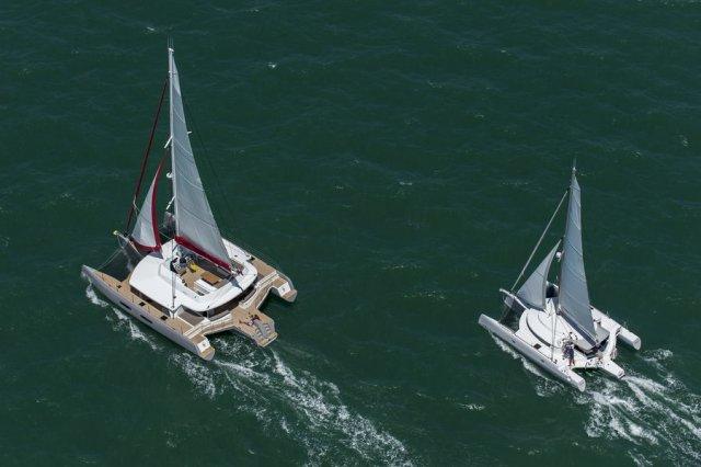 Neel 65 Trimaran von Trend Travel Yachting