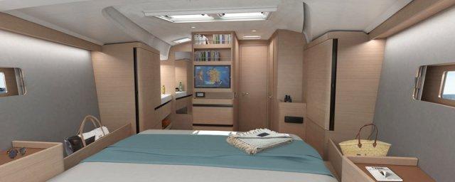 Trend Travel Yachting Jeanneau Sun Odyssey 490, Chartern oder Kaufen. Interieur, Kabine (20)