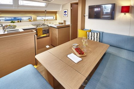 Trend Travel Yachting Jeanneau Sun Odyssey 490, Chartern oder Kaufen. Interieur (6)